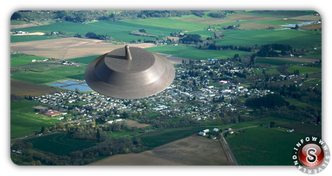 Reconstruction Ufo - Oregon McMinnville 1950 by ufo-explorer.com