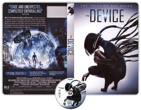 The Device - Copertina DVD + CD