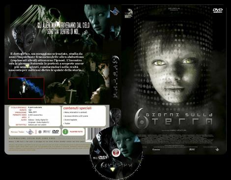 6 giorni sulla Terra - Copertina DVD + CD