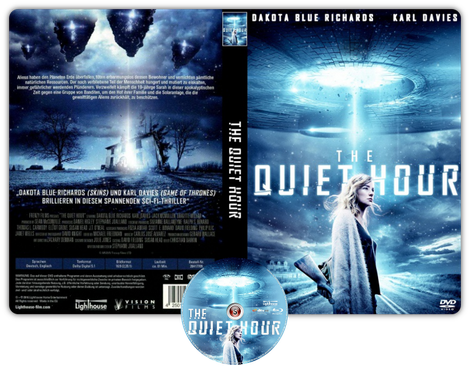 The quiet hour - Copertina DVD