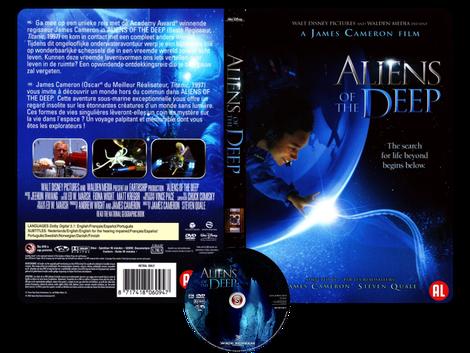 Aliens of the deep - Copertina DVD + CD