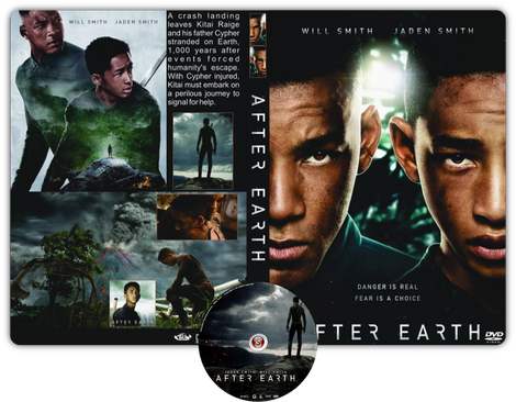 After Earth  -Copertina DVD + CD