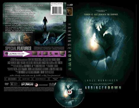 Harbinger down - Copertina DVD + CD