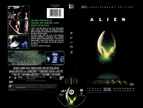 Alien - Copertina DVD + CD
