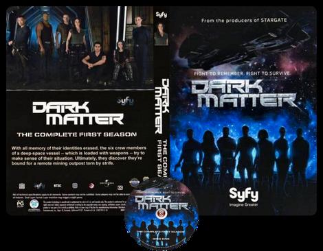 Dark Matter Copertina DVD + CD
