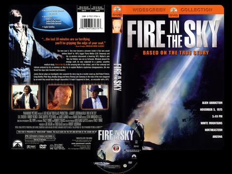 Bagliori nel buio - Fire in the sky - Copertina DVD + CD