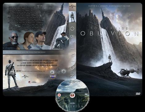 Oblivion - Copertina DVD + CD
