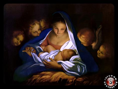 Natività ( San Giuseppe dei Falegnami, Roma )