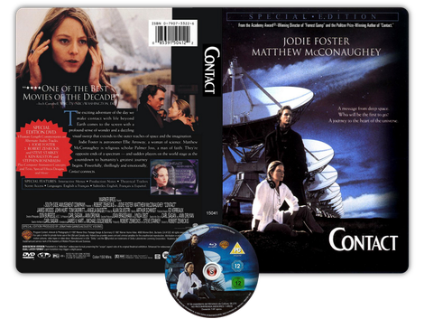 Contact Copertina DVD + CD