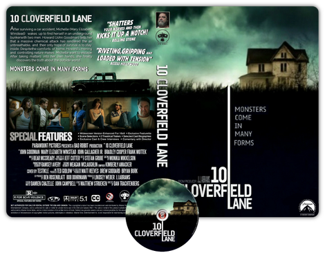 10 Cloverfield lane - Copertina DVD + CD