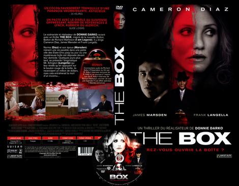 The box - La scatola Copertina DVD + CD