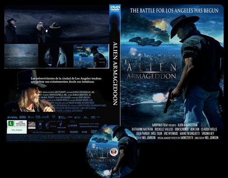 Alien Armageddon - Copertina DVD + CD