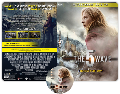 The 5th wave - Copertina DVD + CD