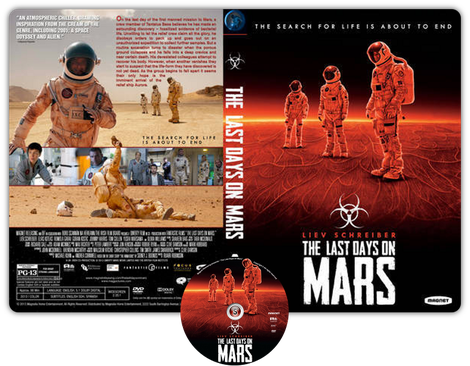 The last days on Mars - Cover DVD + CD