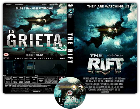 The rift - Copertina DVD + CD