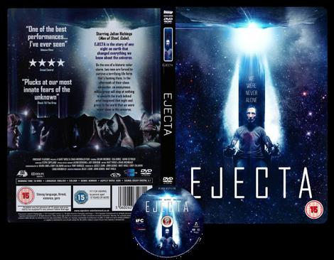 Ejecta Copertina DVD + CD