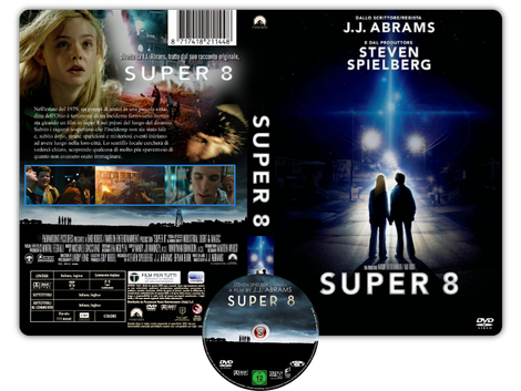 Super 8 Copertina DVD +CD