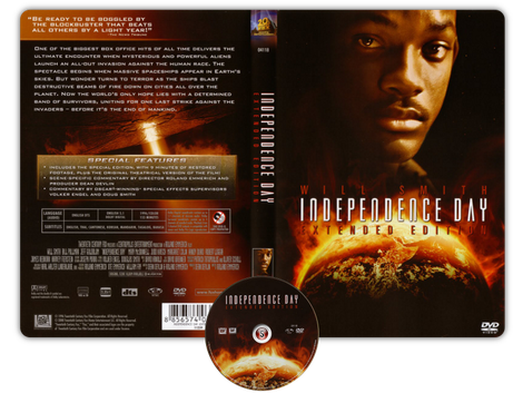 Independence day Copertina DVD + CD