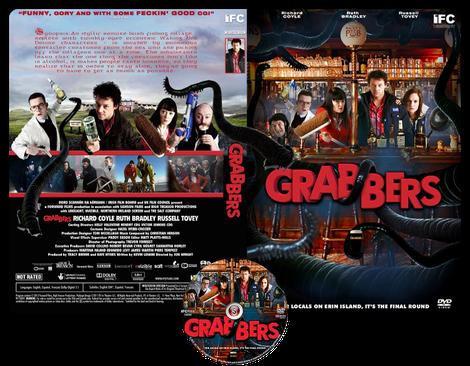 Grabbers - Copertina DVD + CD