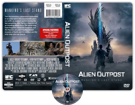 Alien outpost - Copertina DVD + CD