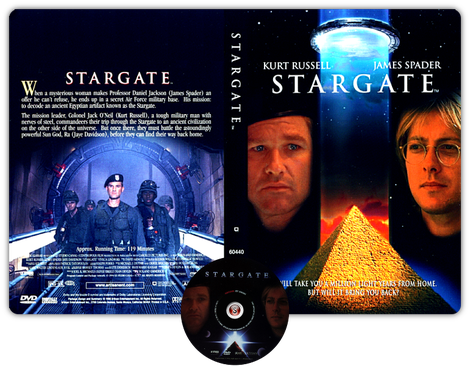 Stargate -  Copertina DVD + CD
