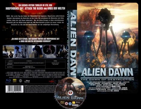 Alien dawn - Copertina DVD + CD
