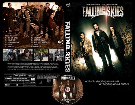 Falling Skies Copertina DVD + CD