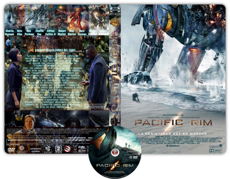 Pacific Rim Copertina DVD + CD