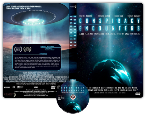 Conspiracy encounters - Copertina DVD + CD