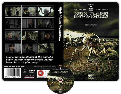 High Plains Invaders - Cover DVD + CD