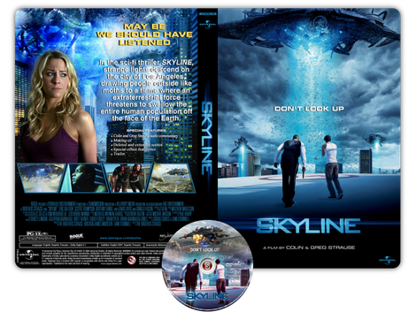 Skyline - Non guardare in alto - Copertina DVD + CD
