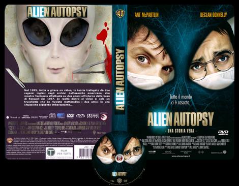 Alien autopsy - Copertina DVD + CD