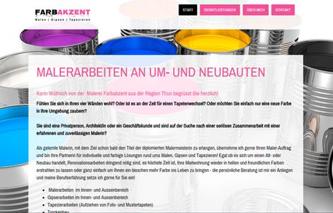 Malerei Farbakzent Uetendorf, Karin Wüthrich