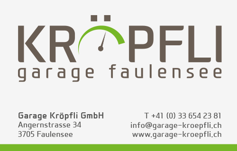 Garage Kröpfli Faulensee