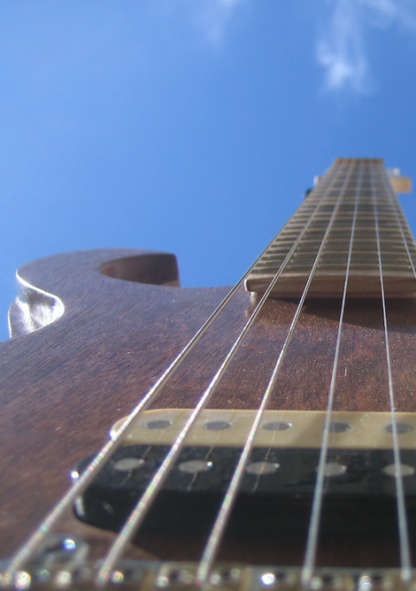 E-Gitarre David Bergmann Quality Handmade Unikat Instrument Saiten Strings Hardweare