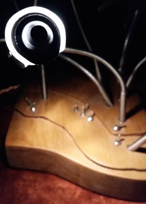 Plexiglas  Gummistopfen Lichtkunst Lichtdesign Formenbau Tiefziehen