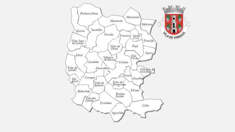 Freguesias do concelho de Vinhais antes da reforma administrativa de 2013