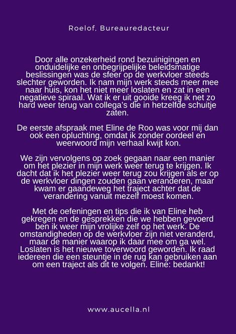 Review Roelof