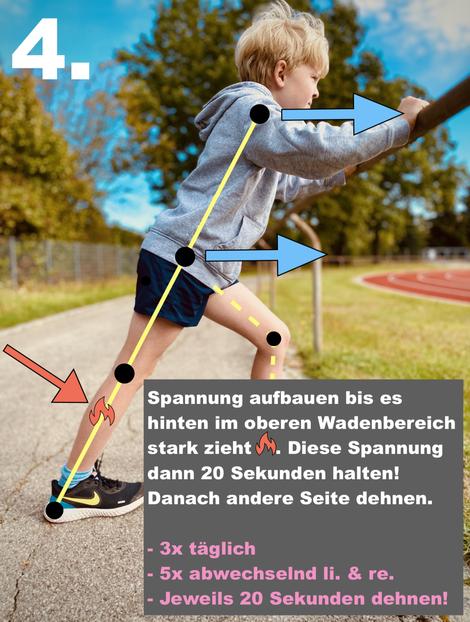 Fersenschmerzen Kind Sport