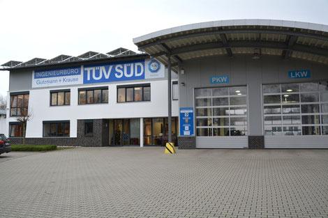 Prüfstelle Kfz Gutzmann und Krause technische Untersuchung TÜV Süd