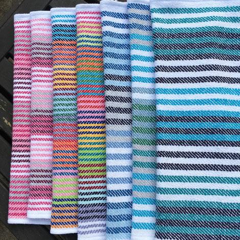 Handgewobene Handtücher von GlasGarnBunt