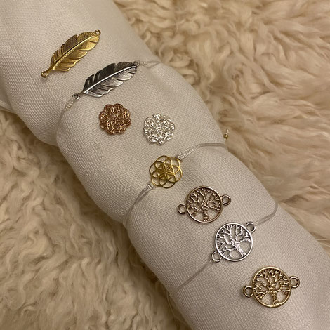 Armband Gelbgold, Rotgold oder Silber