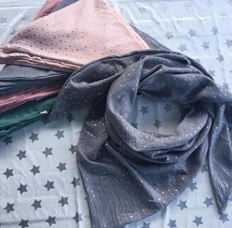 Muselin-Schal von ZiskArt