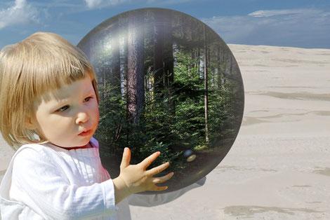 """Was wollen wir für die Zukunft: eine """"grüne Welt"""" oder eine Wüste?"""