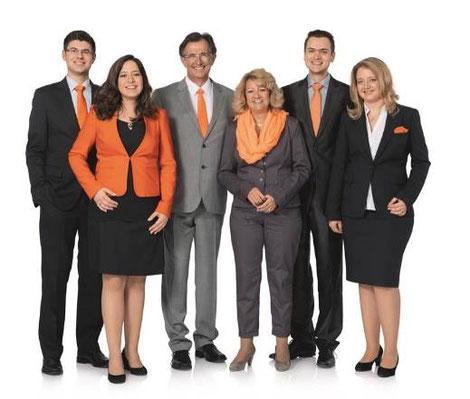 KASTO family Armin Stolzer, Ruth Stolzer, Stephanie Riegel-Stolzer, Jonathan Riegel, Nicole Krebber-Stolzer, Sönke Krebber