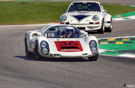 Porsche 910 - Uwe Bruschnik - Monza Historic 2019