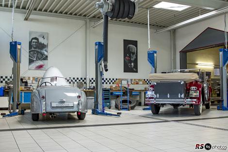 Jaguar XK 120 OTS / Auto-Salon-Singen