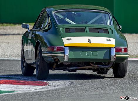 Porsche 911 - Uwe Bruschnik - Monza Historic 2019