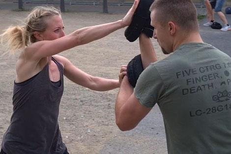 SC Int'l - Street Combatives - Combat Mindset - Motivation - einfach machen - Fight Like An Amazon - Strikology