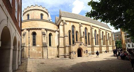 Eglise du Temple à Londres